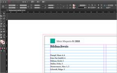 Screenshot – Fertig generierter Index Schmidt, Adobe Indesign, Bar Chart, Pictures, Bar Graphs