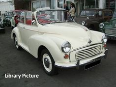 i really love morris minors and the convertibles are gorgeous! This the car, just not right wheel drive!