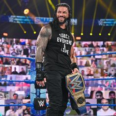 Roman Reigns Smile, Wwe Roman Reigns, Happy Sunday, Roman Empire Wwe, Ms Dhoni Wallpapers, Roman Regins, Wwe Superstar Roman Reigns, The Shield Wwe, Love Your Smile