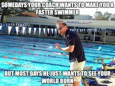 You might be a swimmer if... Funny Swimming Memes plus Friday Frivolity - Munofore