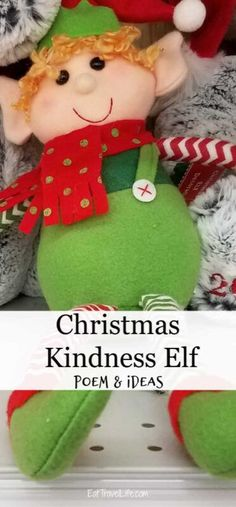 Do you own a kindness elf? Check out these free printables we created to go with it to teach your kids how to be kind to others during Christmas.#elfonshelf #kindnessleves #kindnesselvesprintable #elfonshelfalternative