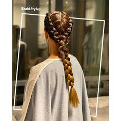 ترکیب بافت هلندی کف سری-بافت دم اسبی گندمی Chignon Hair, Dreadlocks, Hair Styles, Beauty, Hair Plait Styles, Hair Makeup, Hairdos, Haircut Styles, Dreads