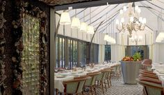 Il Carpaccio, one of the restaurant of Royal Monceau hotel, Paris