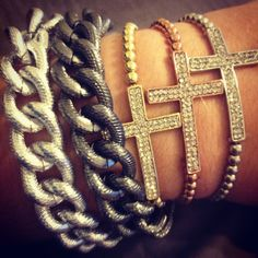 i love these derng bracelets! i just cant jump on the #armparty bandwagon!