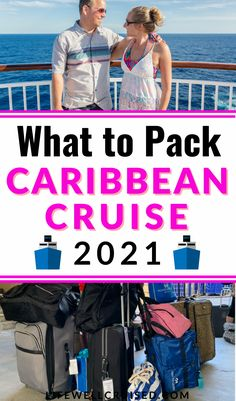 The ultimate guide to packing for your cruise in the Caribbean in 2021. Cruise packing list, how to pack well for a 7 day cruise, cruise outfit packing list plus the best cruise essentials you need to bring! #cruise #cruisepacking #packingtips #cruise2021 #cruisetips