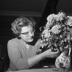The Caernarfonshire Federation of Women's Institutes flower arranging competition | Flickr - Photo Sharing!