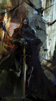 El guerrero de la oscurida