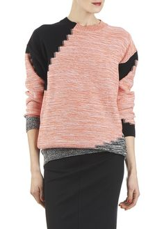 Pull jacquard Rose by SONIA BY