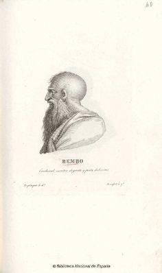 [Retrato de Pietro Bembo]. Rocafort y López, Tomás fl. 1798-1827 — Grabado — 1801-1900?