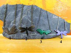 Iron Dragonfly Pendant gift