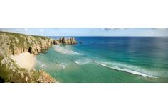 The Coastal Landscape at Treen, Cornwall #photography #gift #canvas #landscape #nature