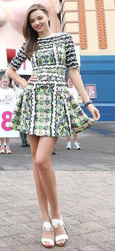 Las mejor vestidas de la semana - Miranda Kerr | Galería de fotos 1 de 21 | Vogue México