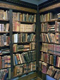 Beautiful vintage books Repinned by Ellery Adams www.elleryadamsmysteries.com