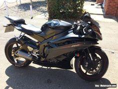 Yamaha YZF R6 2006 Black #yamaha #yzfr6 #forsale #unitedkingdom