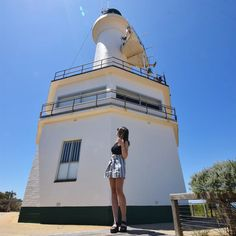Point Lonsdale lighthouse  #weekendaway #bellarinepeninsula by kirstenmilligan http://ift.tt/1JO3Y6G