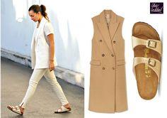 Chic way to wear… BIRKENSTOCKS!!!