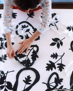 Making Canvas Rugs - Martha Stewart DIY Decorating