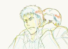HOLD ME BACK BRO! Key animation drawings from episode 8