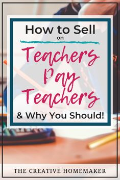 Do you want to sell products online? In this post, learn how to sell on Teachers Pay Teachers, the online marketplace for educators! Teacher Hacks, Teacher Pay Teachers, Teacher Stuff, Way To Make Money, Make Money Online, Classroom Crafts, Teaching Math, Teacher Resources, Online Marketplace