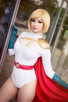 EnjiNight's PowerGirl Cosplay is Absolutely Stunning! For all of your cosplay, gaming, anime, comic con, and all-around nerd culture needs, visitAll That's Epic. Be sure to follow us onTwitterandSubmitus your cosplay photos!