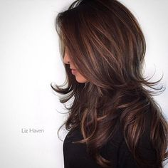 Balayage Hair Color Ideas in Brown to Caramel Tones Cabello Color Chocolate, Great Hair, Balayage Hair, Haircolor, Gorgeous Hair, Gorgeous Makeup, Dead Gorgeous, Hair Looks, New Hair