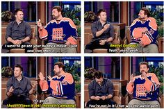 Chris Evans with Kevin Smith on The Tonight Show with Jay Leno on Friday (May in Burbank, Calif.<<<< yeah Chris should be in every movie ever made XD Chris Evans Tumblr, Chris Evans Funny, Bae, Chris Evans Captain America, Internet, Steve Rogers, Marvel Dc, Marvel Memes, Tumblr Funny
