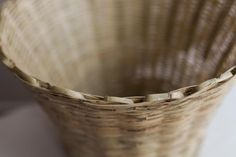 Woven Reed Basket Recycled Wood, Recycling, Basket, Home Decor, Salvaged Wood, Decoration Home, Room Decor, Upcycle, Home Interior Design