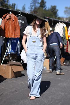 Vintage overalls are making their way back into the hearts and lives of women everywhere.
