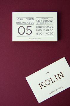 DAS KOLIN by Julia Klinger