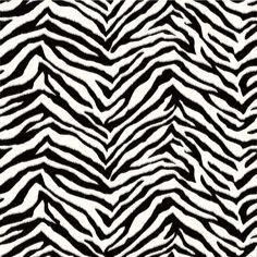8 in. x 10 in. Mia Black Faux Zebra Stripes Wallpaper Sample