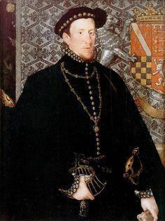 Hans Eworth. Thomas Howard, 4th Duke of Norfolk.1563