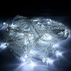 LED white battery operated led fairy string lights ideal for christmas tree lights festive birthday wedding
