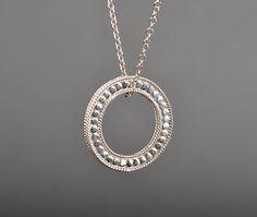 Circle Necklace by Anna Beck - Silverscape Designs