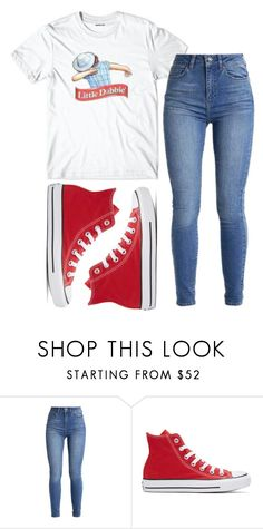 """Little Dabbie "" by sydthekyd01 on Polyvore featuring Converse"