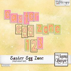 Available for just $1 during Pickleberrypop's PICKLE BARREL PROMO through March 24 at 11:59 p.m. EDT! Shop fast to save BIG! Easter Egg Zone Alphabet Sets