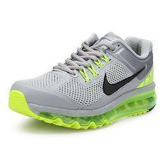 NIKE AIR MAX+ 2013 Mens Running Shoes Wolf Grey Black Volt 554886 007 SIZE  11 4b2613115
