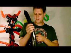Ballon balloon, großer Drache big dragon, Modellierballon Ballonfiguren Part 1/3 - YouTube