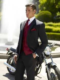 Suave and masculine; my man would look HOT!