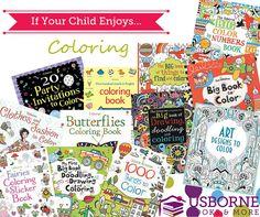 Best of Usborne Coloring Books