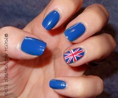 Nails - might do them with the Scottish flag for Burns Night.