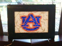 Small Auburn mosaic