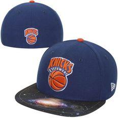 f998b3d6ceb New Era New York Knicks 59FIFTY Galaxy Fitted Hat - Royal Blue