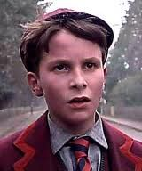 "Christian Bale as a child in movie ""Empire of the Sun""  - I knew then he was destined to be GREAT"