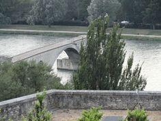 Le Pont d'Avignon  Le Rhône  Vaucluse France