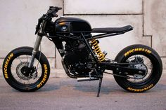 View a number of my favorite builds - custom made scrambler concepts like this Tracker Motorcycle, Moto Bike, Cafe Racer Motorcycle, Motorcycle Design, Mini Motorbike, Cafe Racer Helmet, Vintage Cafe Racer, Retro Bikes, Cafe Racer Bikes