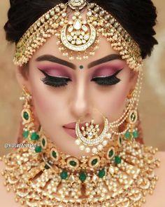Rio de Oro Soutache bracelet Boho bracelet Gold bracelet Wedding bracelet Soutache jewelry Bridal bracelet Wedding jewelry Gift for her - Custom Jewelry Ideas Indian Wedding Makeup, Indian Wedding Bride, Bridal Eye Makeup, Bridal Makeup Looks, Indian Wedding Jewelry, Bride Makeup, Bridal Looks, Bridal Jewelry, Unique Jewelry