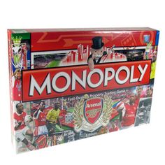 Give me this!!!!!  Arsenal FC Monopoly Game | Arsenal FC Gifts | Arsenal FC Shop