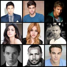 The cast so far
