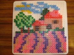 Maison lavandes hama beads by zoe94