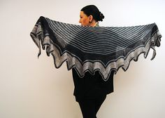 For today only, (Dec.5th) my Abaia shawl design is FREE! :D